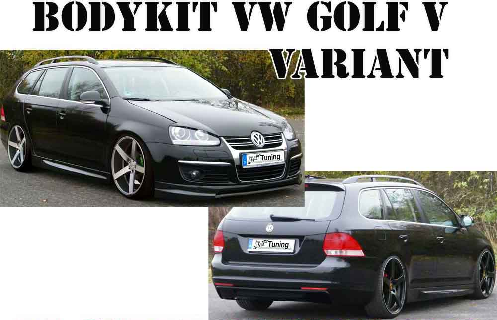 bodykit vw golf v variant frontspoiler oem style. Black Bedroom Furniture Sets. Home Design Ideas