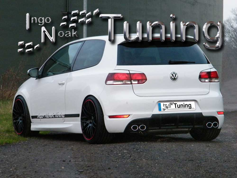 ingo noak heckansatz spoileransatz vw golf 6 gti gtd ebay. Black Bedroom Furniture Sets. Home Design Ideas