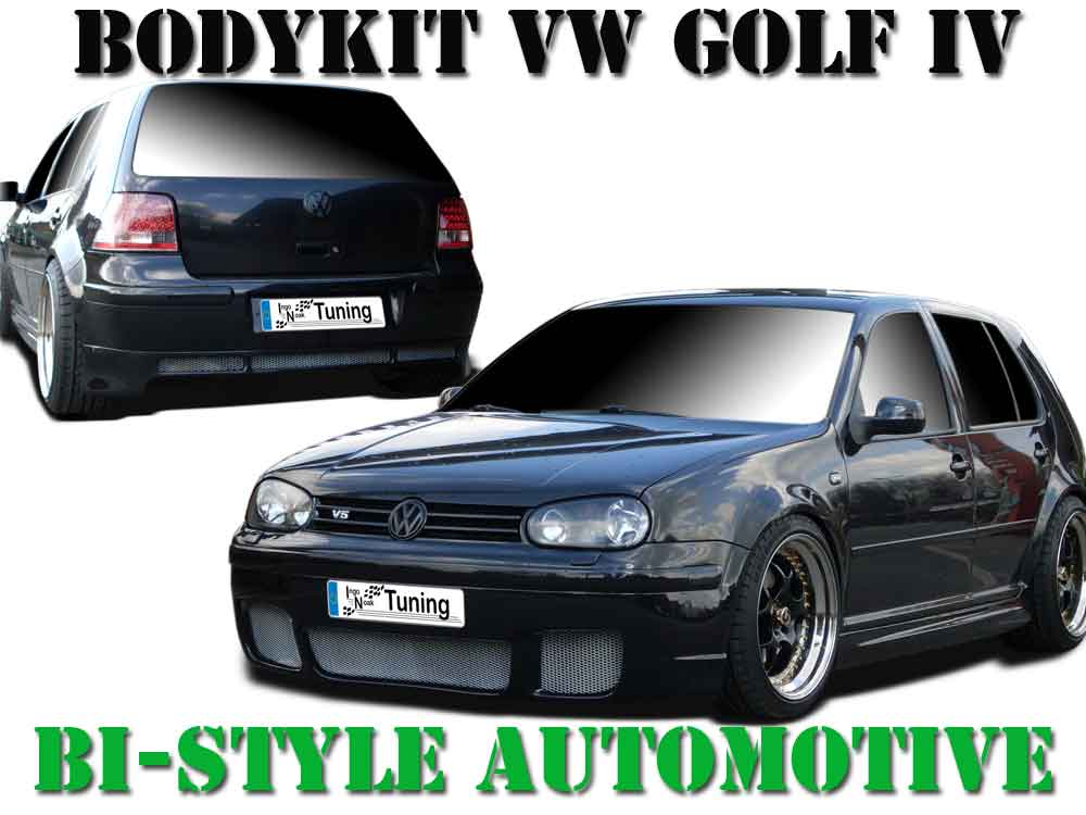 bodykit vw golf iv gt street one design frontsto stange. Black Bedroom Furniture Sets. Home Design Ideas