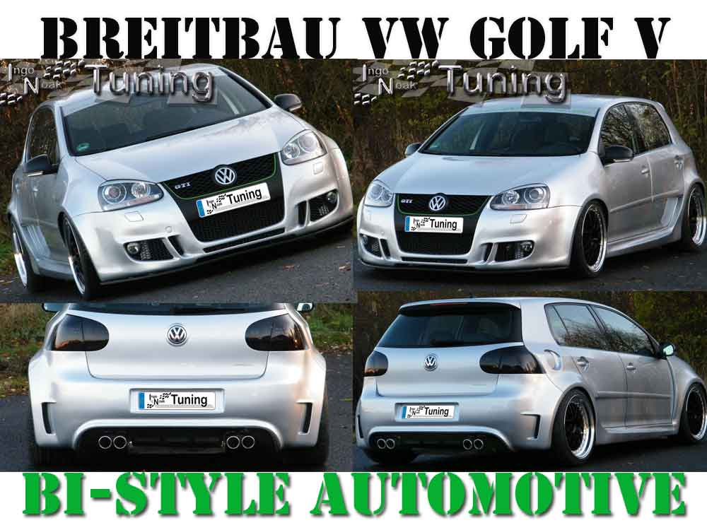 bodykit breitbau breitbausatz vw golf v 5 4 t rer. Black Bedroom Furniture Sets. Home Design Ideas