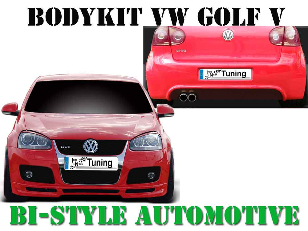 bodykit vw golf v gti gt frontspoiler sportive offen. Black Bedroom Furniture Sets. Home Design Ideas