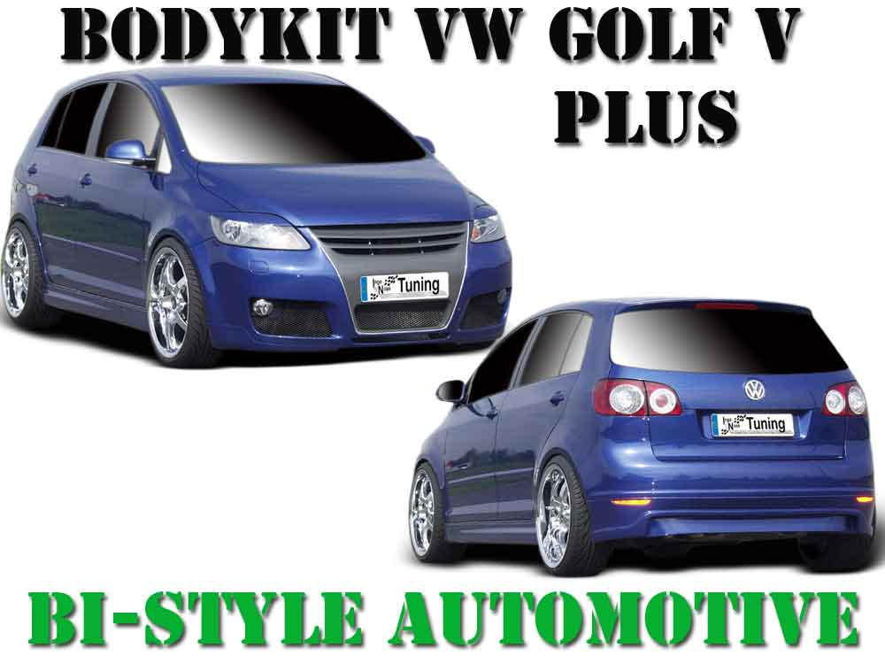 bodykit vw golf v plus frontsto stange sra heckansatz. Black Bedroom Furniture Sets. Home Design Ideas