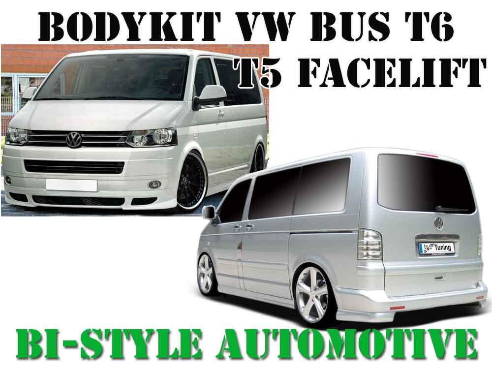 bodykit vw bus t5 facelift t6 frontspoileransatz. Black Bedroom Furniture Sets. Home Design Ideas
